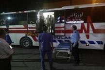 برخورد خودروها در جاده قزوین - زنجان 35 مصدوم بر جای گذاشت