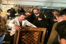 هنرمند کردستانی موفق به کسب رتبه اول صنایع دستی کشور شد
