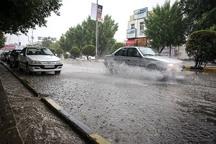 وضعیت شهر قم با وجود بارش های شدید عادی است