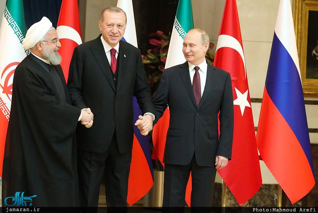 روسیه: پوتین در نشست سوچی جداگانه با روحانی و اردوغان دیدار خواهد کرد