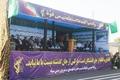 برگزاری رژه نیروهای مسلح در دزفول