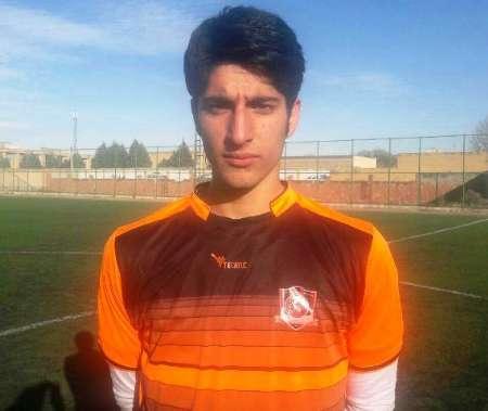 دروازه بان قزوینی در اردوی تیم ملی فوتبال جوانان حاضر شد