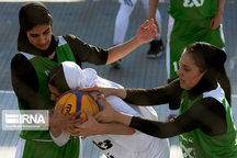 اصفهان قهرمان بسکتبال سه نفره بانوان کشور شد