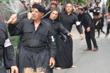 کرمانشاه در سوگ سقای کربلا