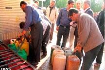 بیش از یک میلیون لیتر سوخت بین کشاورزان گچساران توزیع شد