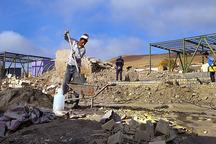 کار بازسازی مناطق زلزله زده سرپل ذهاب شتاب گرفت