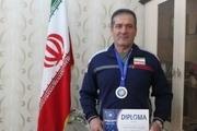 معتاد بهبود یافته کرجی قهرمان کشتی گرجستان شد