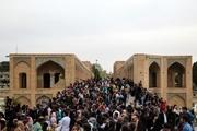 رشد ۵ درصدی حضور گردشگران نوروزی در اصفهان