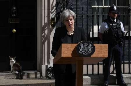 ترزا می:«ام آی5»درباره نحوه واکنش به حمله تروریستی لندن تحقیق می کند