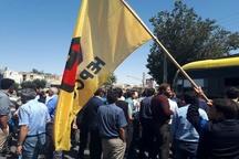 معوقات مزدی کارگران هپکو را  به خیابانهای اراک کشاند