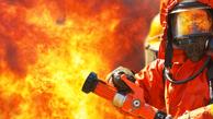 انبار مواد شیمیایی در آتش سوخت