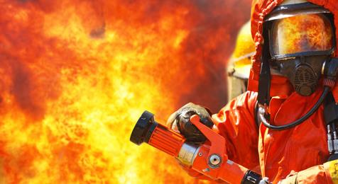 آتش سوزی برجی در خیابان جردن