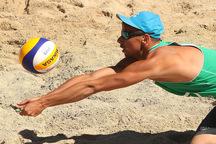مسابقات تور جهانی والیبال ساحلی بندرترکمن آغاز شد