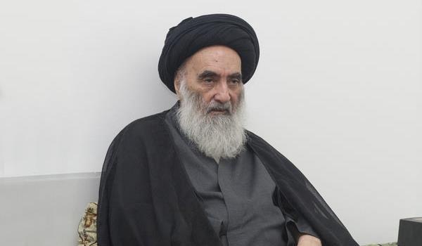 نتیجه تصویری برای درخواست آیت الله سیستانی از رهبران کرد برای همکاری با بغداد