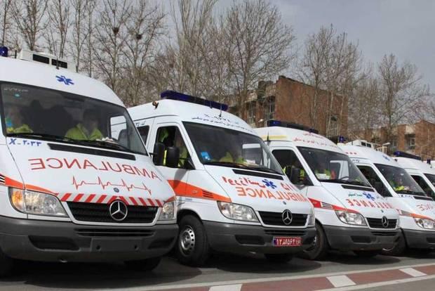 تیم های خدماتی و درمانی در ورزشگاه آزادی مستقر شدند