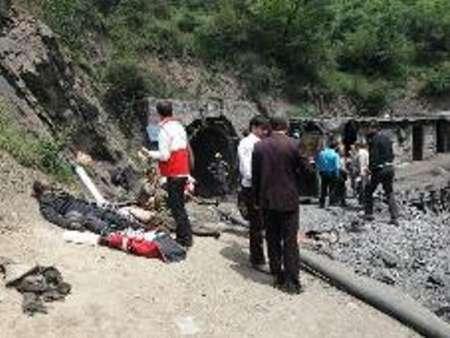 احتمال جان باختن تعدادی از کارگران در انفجار معدن زغال سنگ آزادشهر
