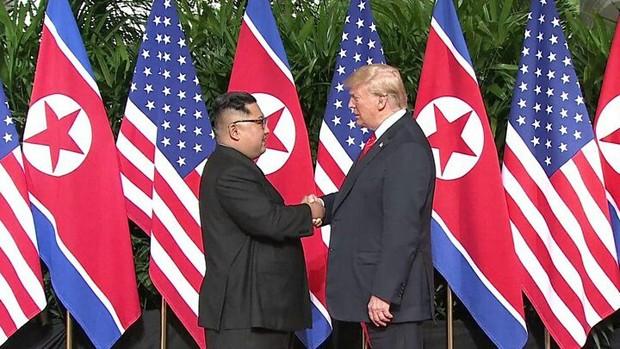 کلیپی که ترامپ به رهبر کره شمالی نشان داد چه بود؟ +  فیلم