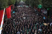 سوگواری تاسوعای حسینی در آذربایجان شرقی
