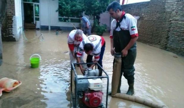 628 نفر گرفتار سیلاب در خراسان رضوی امدادرسانی شدند
