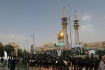 نماز سومین روز شهادت امام حسین (ع) در همدان اقامه شد
