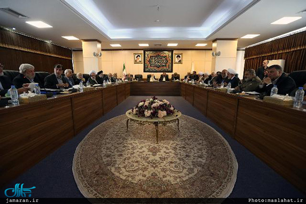 تشکیل جلسه مجمع تشخیص مصلحت نظام