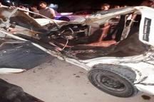 3 کشته و مجروح براثر تصادف در دزفول