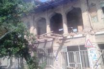 بخشی از بنای تاریخی خانه بچاری آبادان تخریب شد