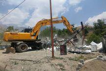 ۲۰۰ ساخت و ساز غیرمجاز در حریم رودخانههای قزوین تخریب میشود