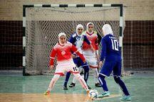 تیم فوتسال زنان کهگیلویه و بویراحمد نایب قهرمان لیگ برتر شد