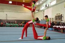 مسابقات لیگ قهرمانی ترامپولین کشور در یزد آغاز شد