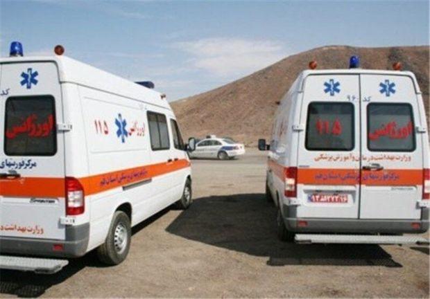 اختصاص ۹ دستگاه آمبولانس به مناطق صعبالعبور لرستان