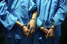 سارقان تجهیزات آبرسانی در بیجار دستگیر شدند