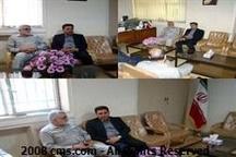 دیدار مدیرعامل شرکت آب و فاضلاب استان با نماینده مردم بروجرد در مجلس