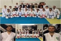 شرکت دو گیلانی در مسابقات کاراته پلیسهای جهان