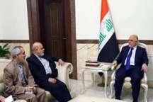 العبادی: تروریست ها به دنبال چالش میان ایران و عراق بودند