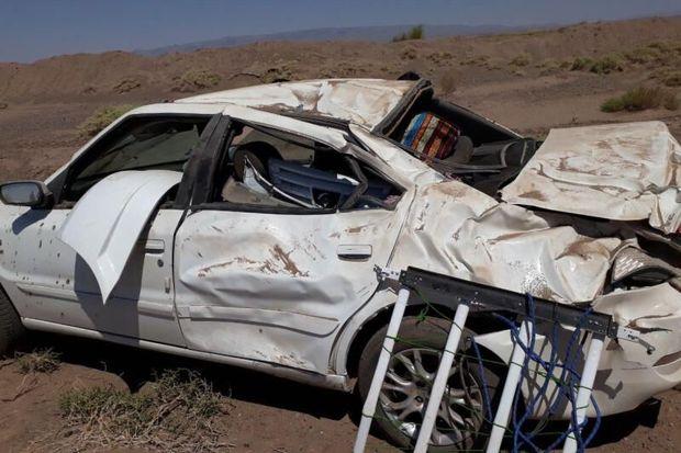 تصادف در جاده دامغان به سمنان یک کشته و مجروح داشت