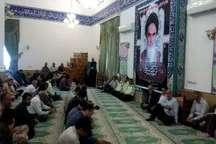 برگزاری سالگرد ارتحال امام (ره ) در شهرستان عباس آباد