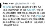 ایران تنها در چه صورتی موظف به ادامه اجرای تعهدات برجامی است؟