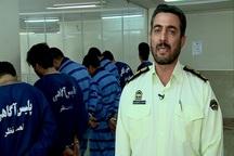 سارقان مسلح خودرو در تبریز دستگیر شدند