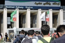 26 رام قطار جدید در مسیر راه آهن مشهد اختصاص یافت