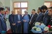 حضور رئیس فدراسیون فوتبال در  بیت و زادگاه حضرت امام(س) در خمین