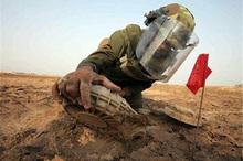 4710 قبضه مین در کردستان خنثی شد