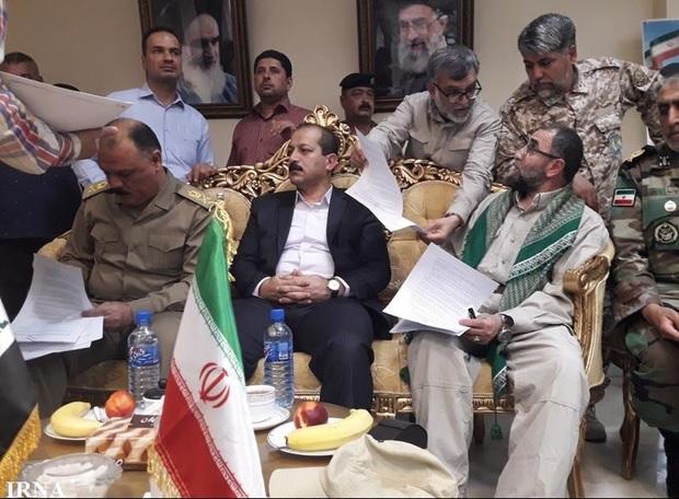 تفاهمنامه انتقال شهدا و اجساد عراقی امضا شد