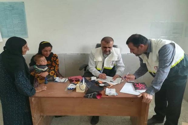 خدمات پزشکی به روستاهای بخش دیشموک ارائه شد