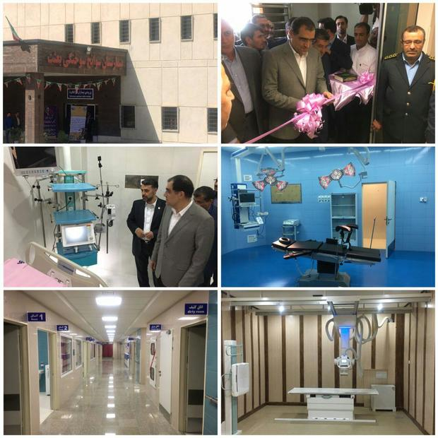 مرکزسوختگی بیمارستان بعثت همدان با حضور وزیر بهداشت راه اندازی شد