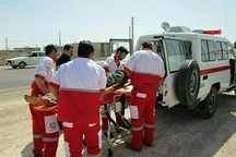 هلال احمر دهلران به 58 خانوار سیل زده امداد رسانی کرد