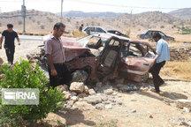 حادثه رانندگی در جاده مهاباد - ارومیه یک کشته و یک مصدوم داشت