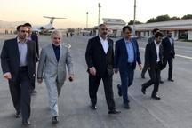 نوبخت وارد سنندج شد  بازدید از سدهای در دست احداث کردستان