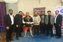 رزمی کار آذربایجان غربی رکورد ضربات آپرکات ایران را شکست