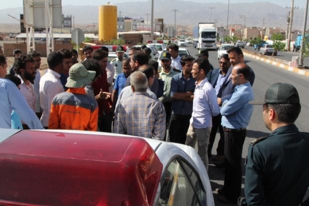 اطلاعیه شهرداری بیرجند درباره درگیری دستفروش با ماموران